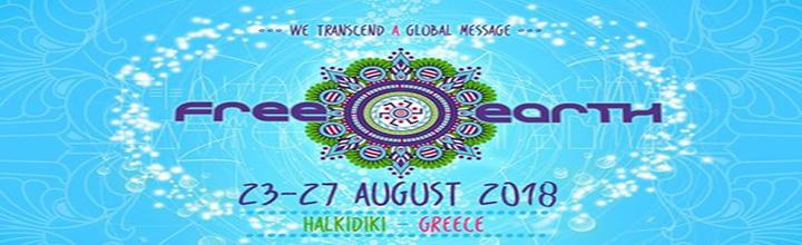 Free Earth Festival Flyer 2018