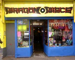 dragon discs shopfront