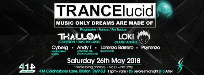 Trancelucid May 2018