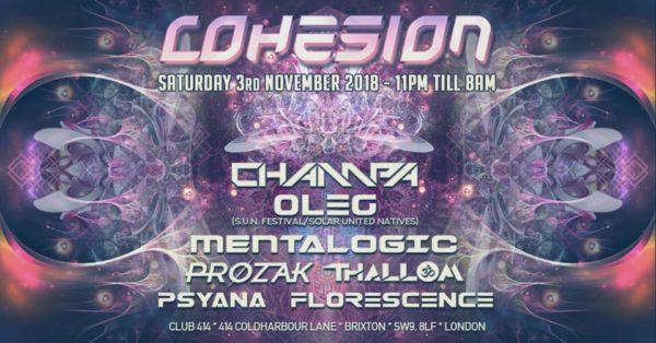 cohesion nov 2018